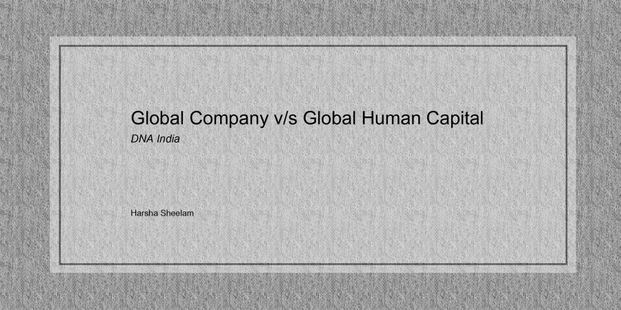 global-company-human-capital-harsha-sheelam