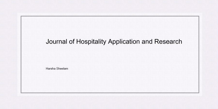 hospitality-research-harsha-sheelam